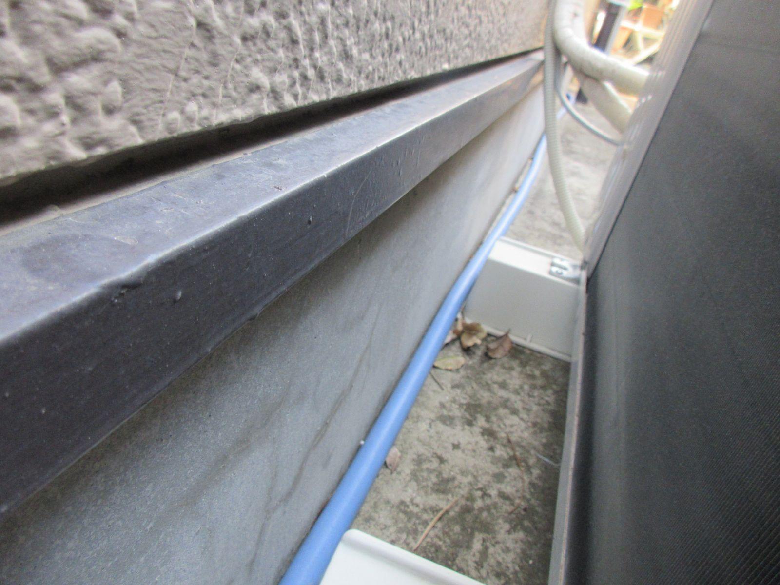 【紀の川市】外壁塗装・鼻隠し板金カバー工法(木部→ガルバリウム鋼板)工事・N様邸                      『外壁と各部分の施工で新築時の美しさへ、、♪』 17