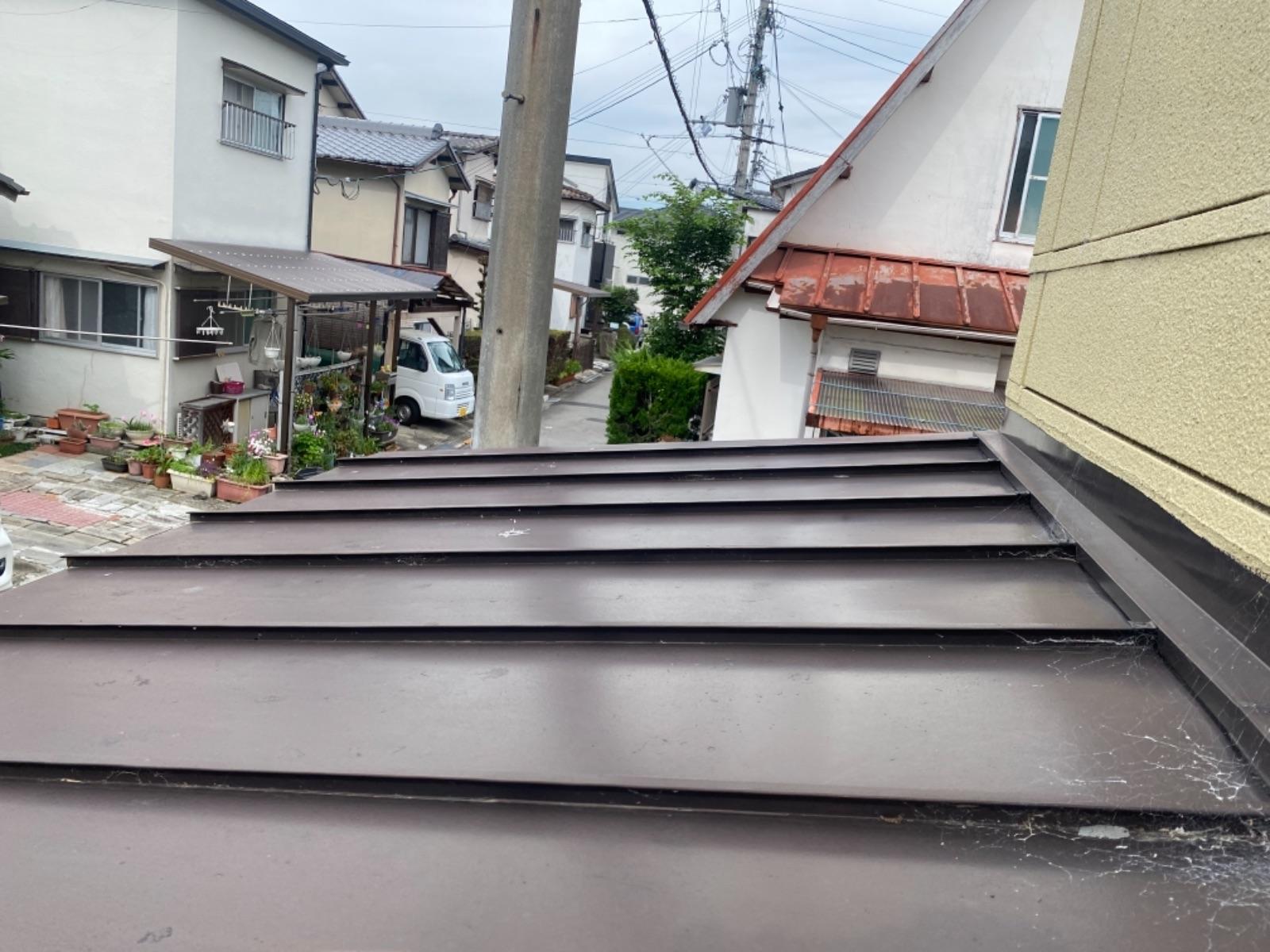 【紀の川市】M様邸 屋根塗装工事<br>『コーティングを施し、輝きと耐久性をプラス♬』5