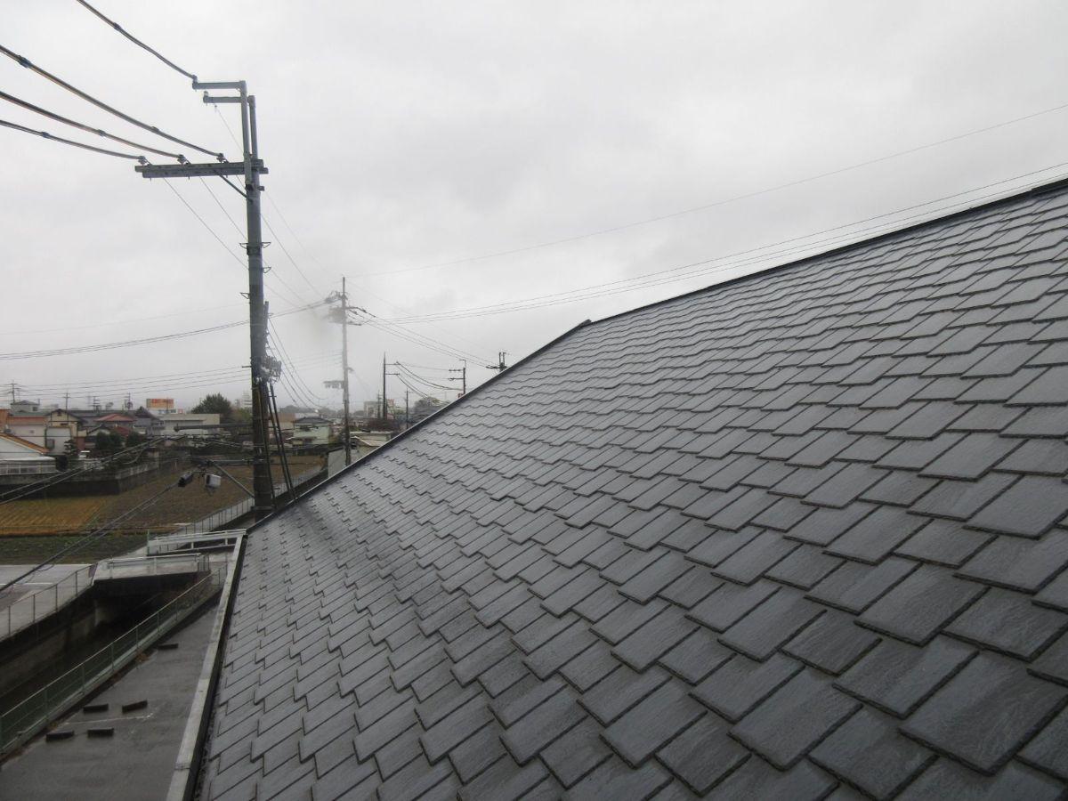 【岩出市】 I様邸 外壁・屋根塗装工事<br>『ライトグレーが上品でシックな仕上がりに♫』3