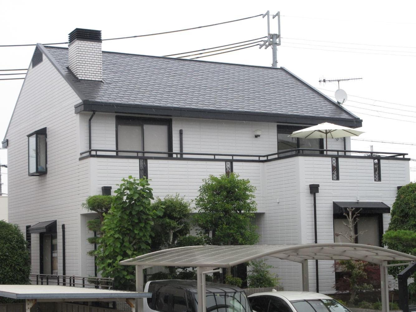 【岩出市】 I様邸 外壁・屋根塗装工事<br>『ライトグレーが上品でシックな仕上がりに♫』2