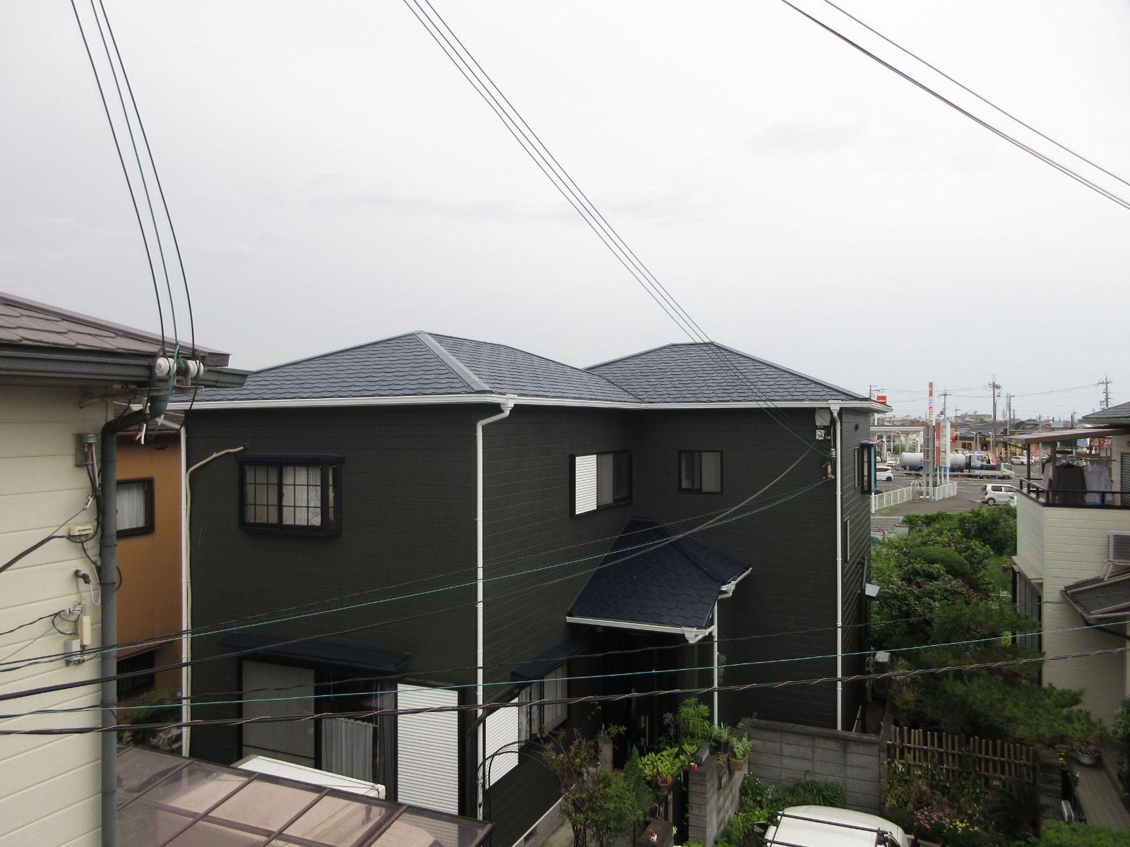 【泉南市】 N様邸 外壁・屋根塗装工事<br>『耐久耐侯No1!こだわりが詰まったお家に♫』