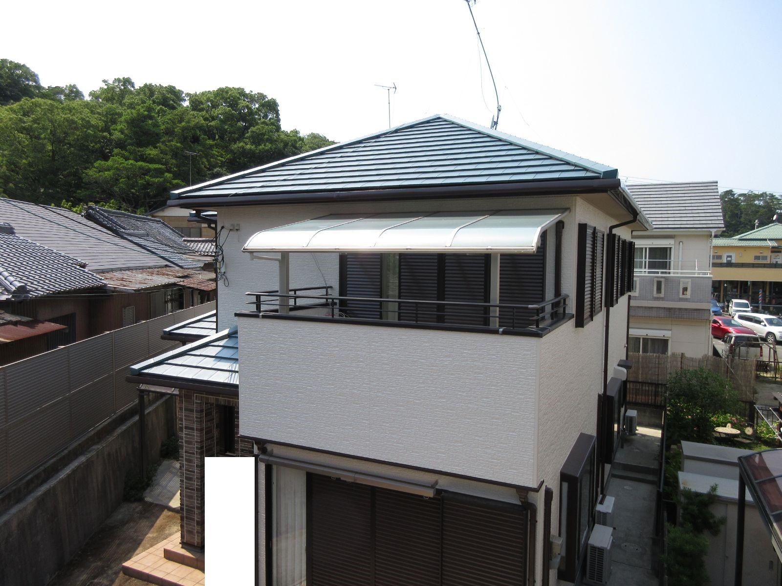 【和歌山市】H様邸<br>『耐久性・耐光性のあるフッ素塗料で最高の仕上がりに°˖✧』