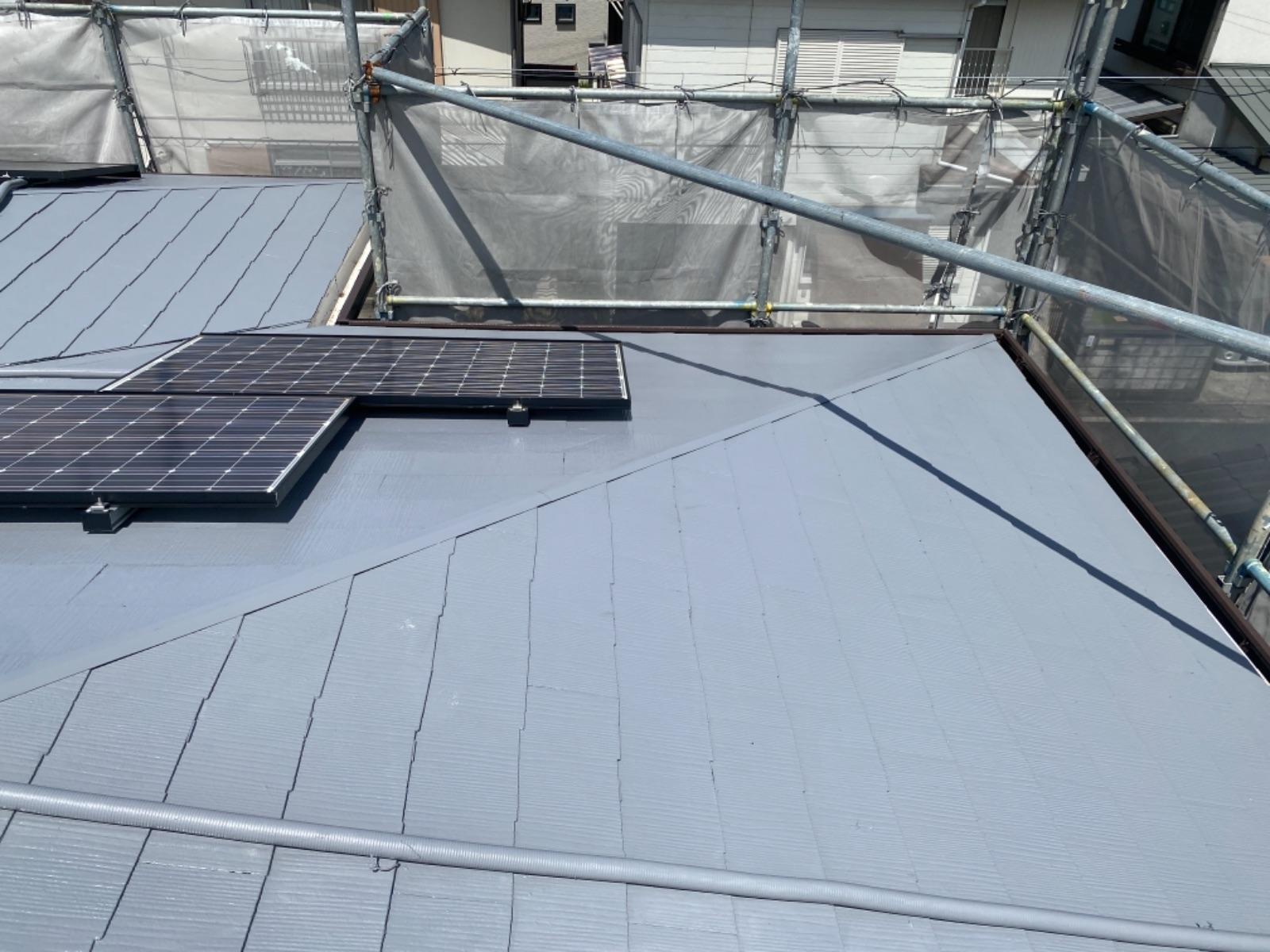 【和歌山市】T様邸 外壁・屋根塗装工事<br>『モダンに大変身♫新築のような美しさ✦』6