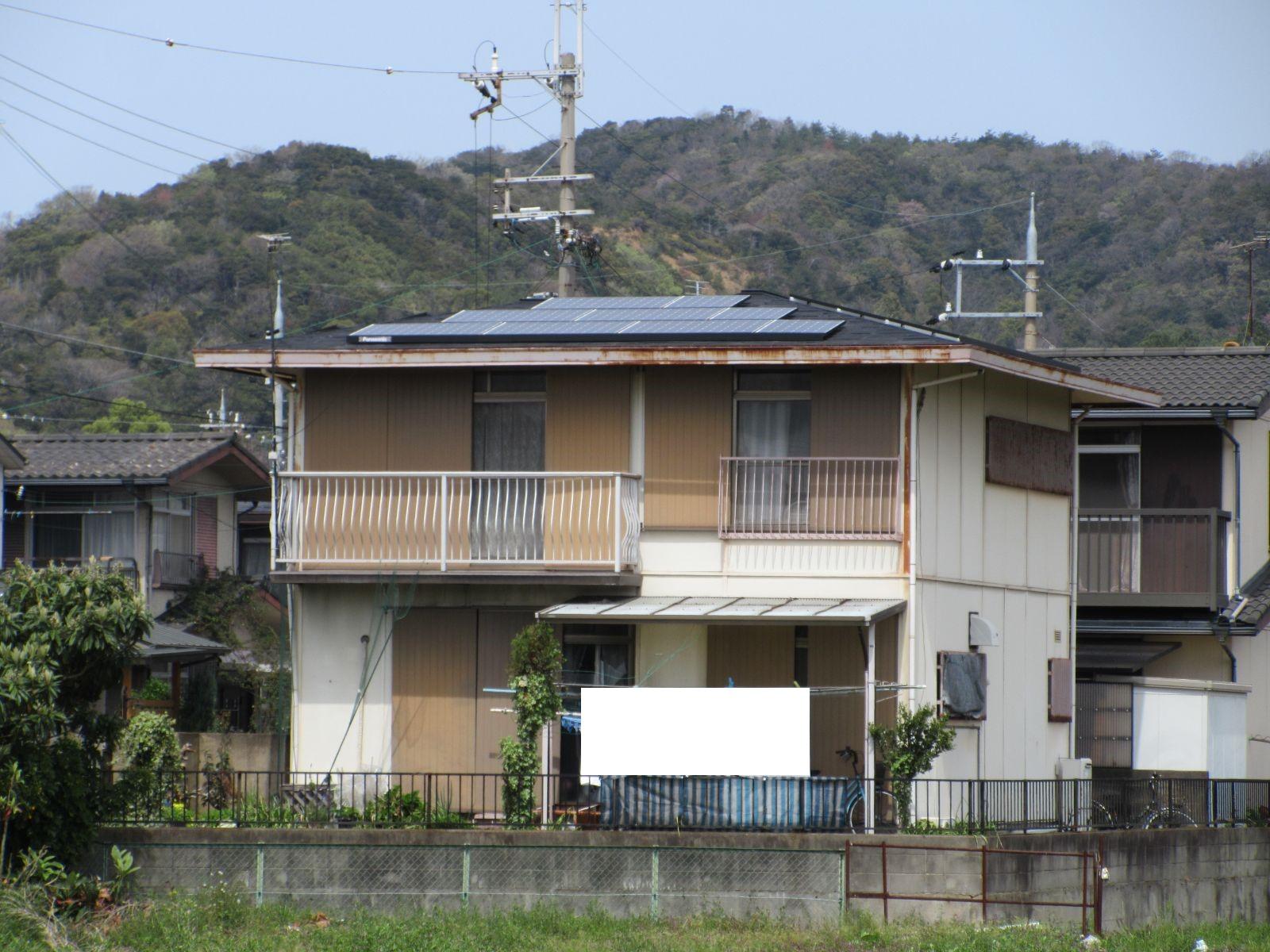 【和歌山市】T様邸 外壁・屋根塗装工事<br>『モダンに大変身♫新築のような美しさ✦』3