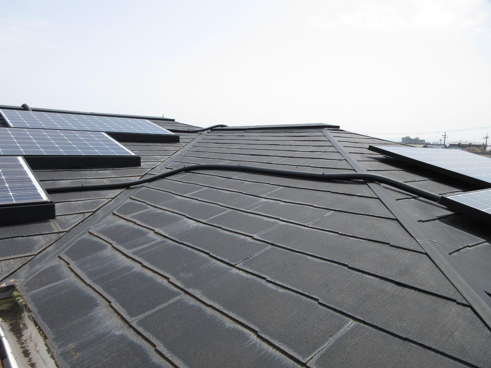 【和歌山市】T様邸 外壁・屋根塗装工事<br>『モダンに大変身♫新築のような美しさ✦』5