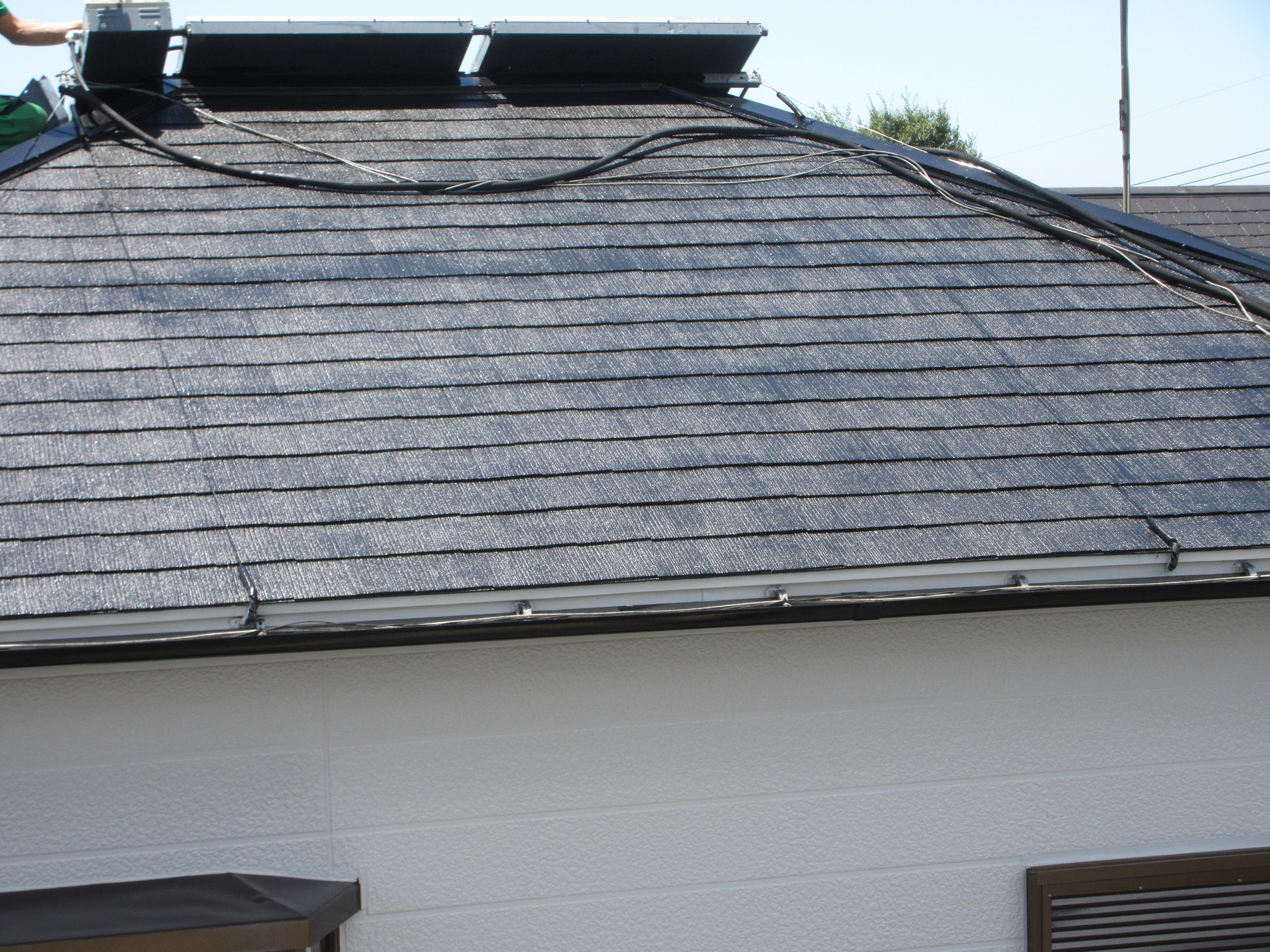 【和歌山市】T様邸<br>『ライトグレーの外壁と黒の屋根でエレガントな仕上がりに♪』4