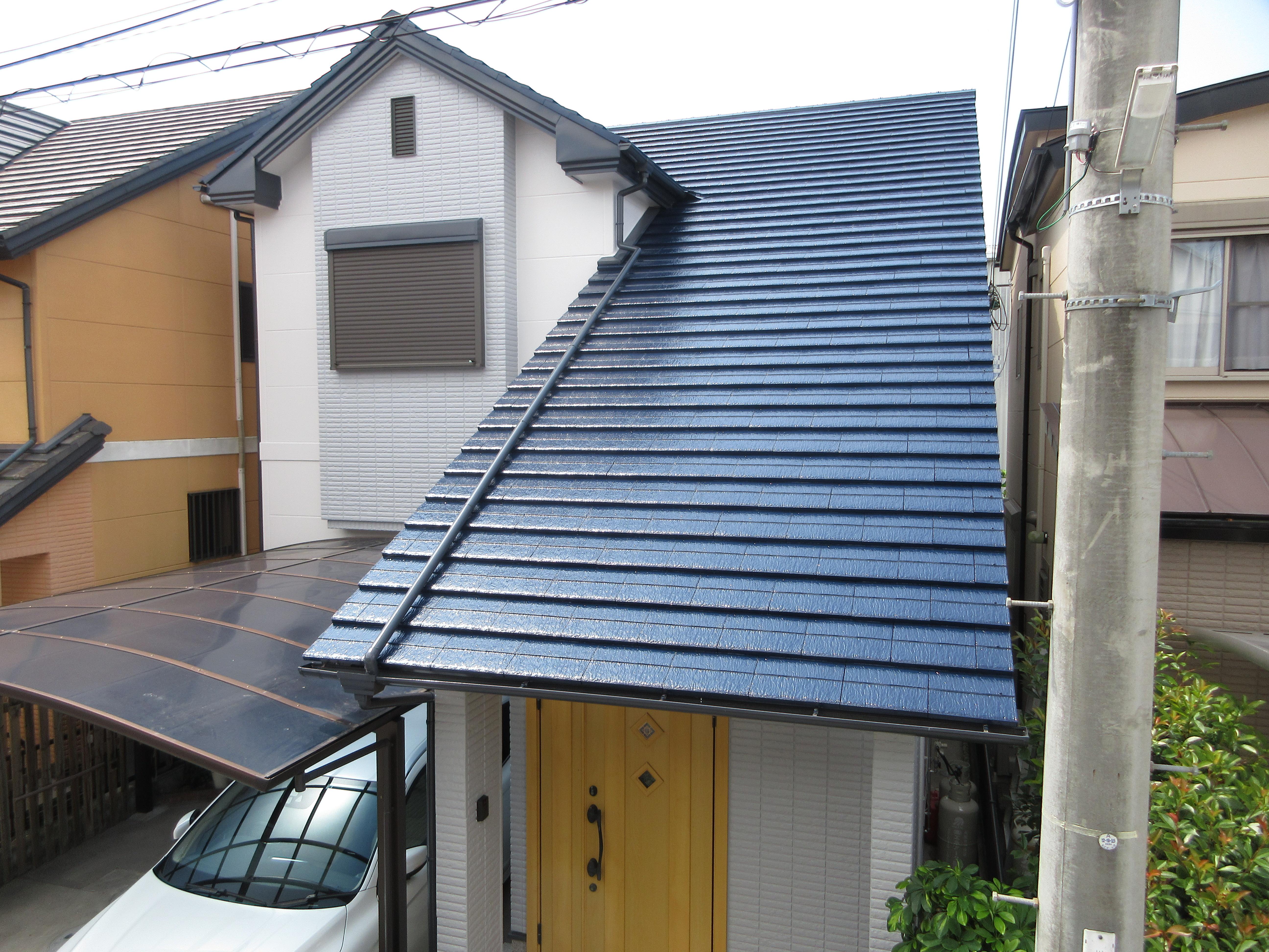 【和歌山市】K様邸<br>『玄関がより引き立つシックな仕上がりに♪』