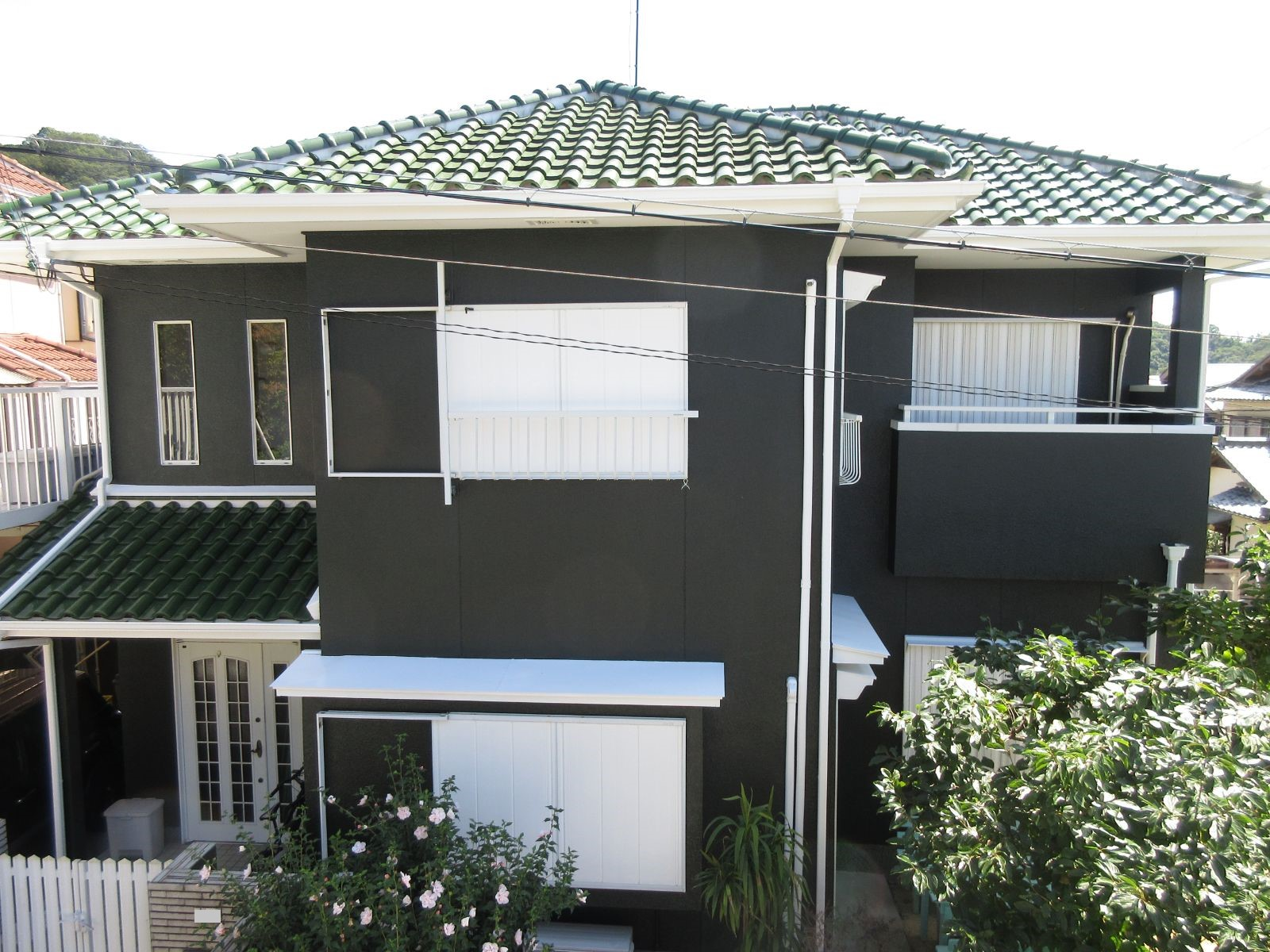 【和歌山市】O様邸<br>『深緑色の外壁で上品な仕上がりに、、❀』