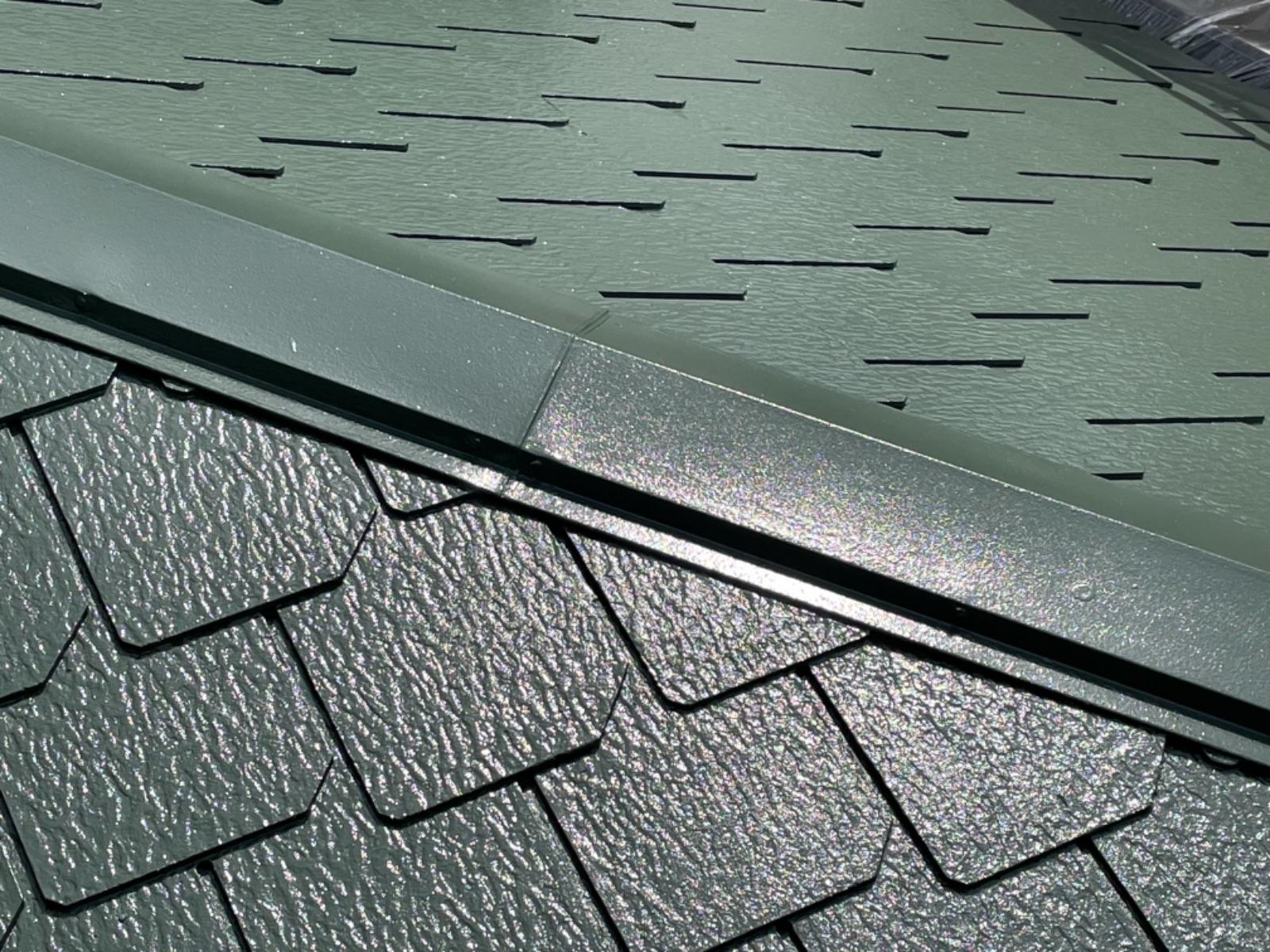 【紀の川市】 M様邸<br>『グリーンの屋根が 上品に輝いています★』4