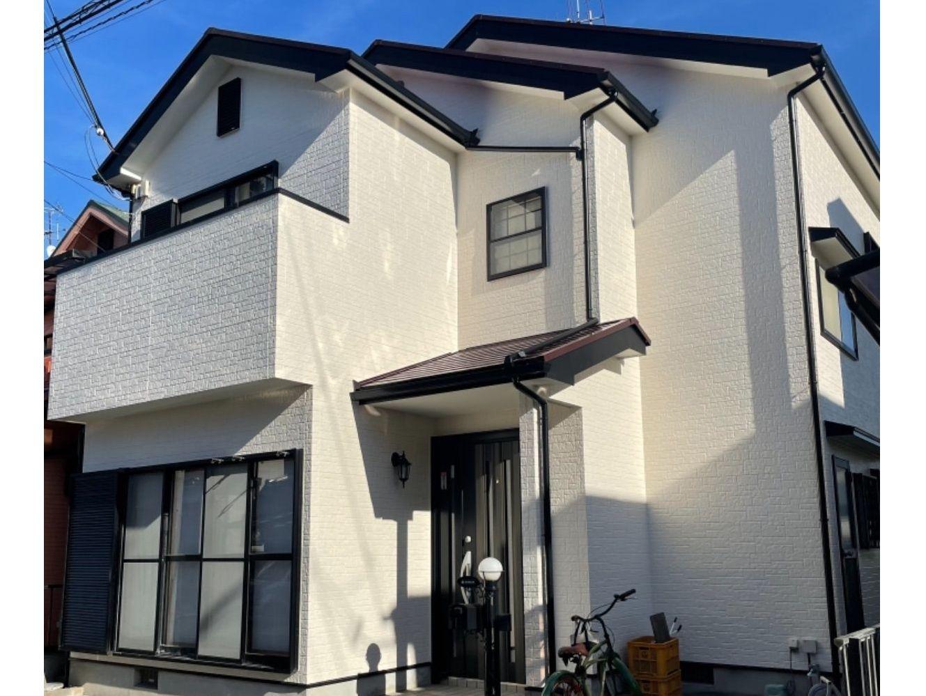 【岸和田市】 K様邸<br>『ワイン色の屋根が上品に輝くお家に…★』